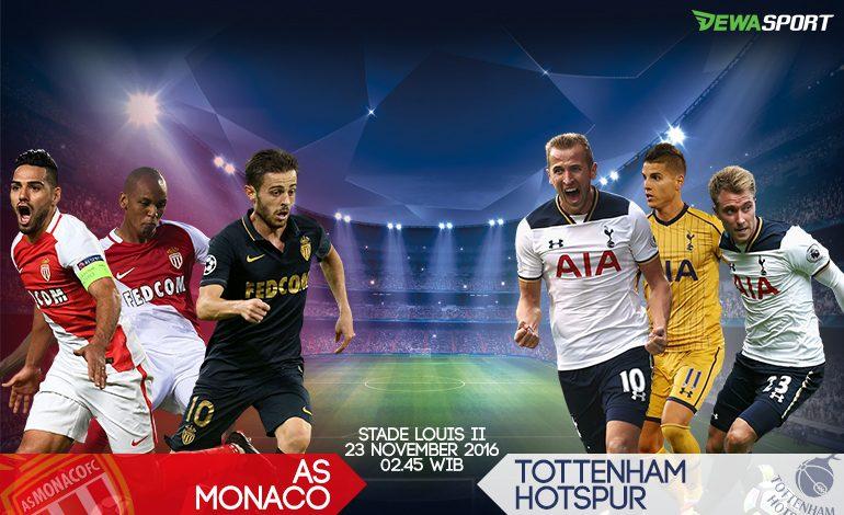 Prediksi Pertandingan Antara AS Monaco Melawan Tottenham Hotspur