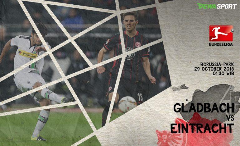 Prediksi Pertandingan Antara Borussia M'Gladbach Melawan Eintracht Frankfurt