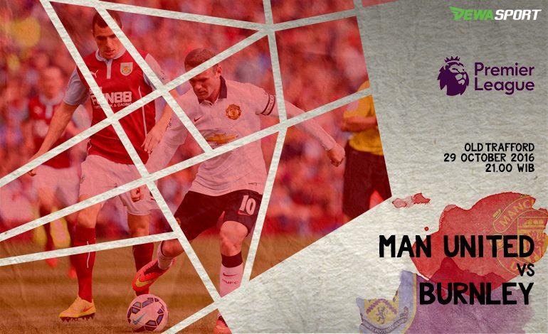Prediksi Pertandingan Antara Manchester United Melawan Burnley
