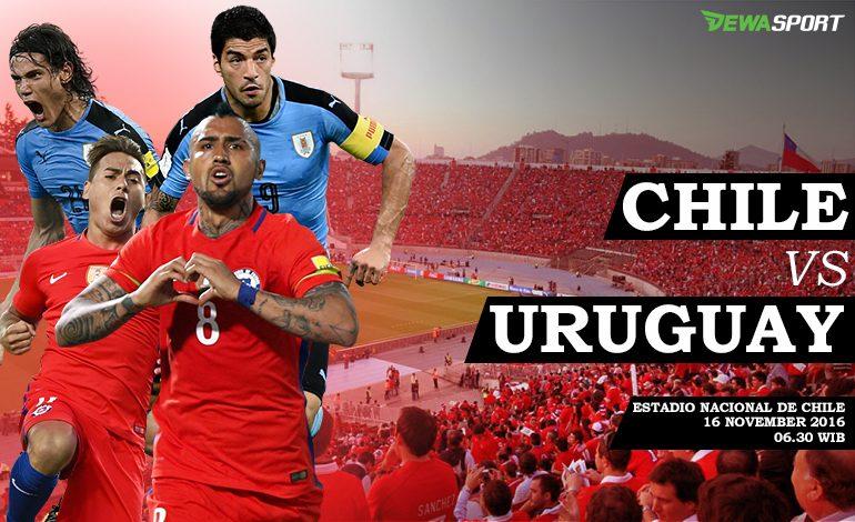 Prediksi Pertandingan Antara Cili Melawan Uruguay