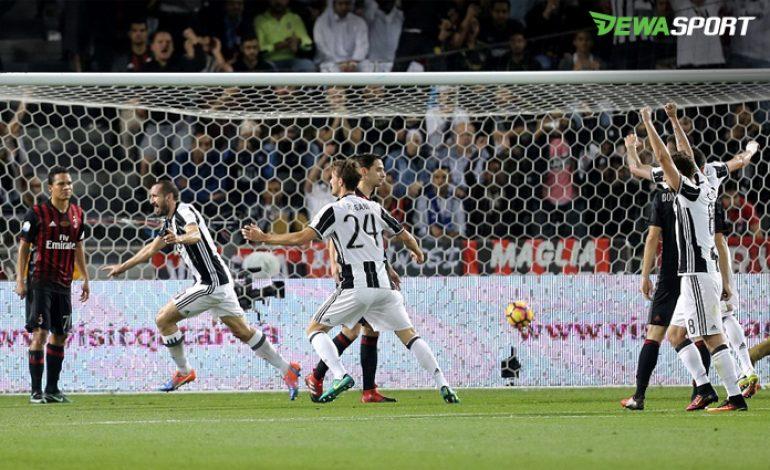 Juventus Kalah, Giorgio Chiellini Tetap Angkat Topi Untuk AC Milan