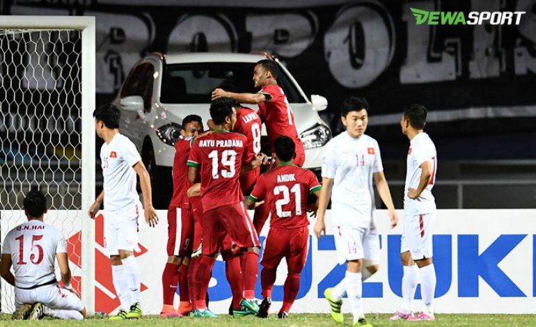 Timnas Indonesia Bekuk Vietnam