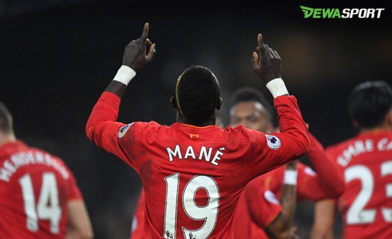 Sadio Mane Jadi Pahlawan Liverpool Di Derby Merseyside