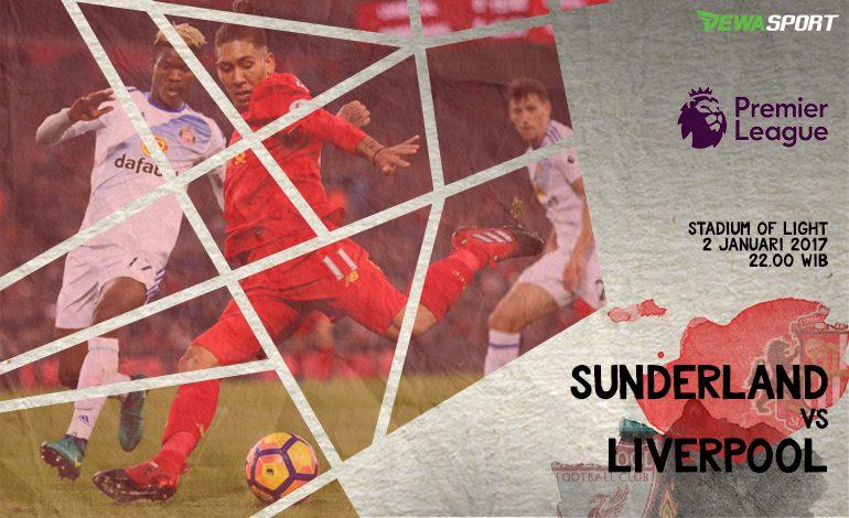 Prediksi Pertandingan Antara Sunderland Melawan Liverpool