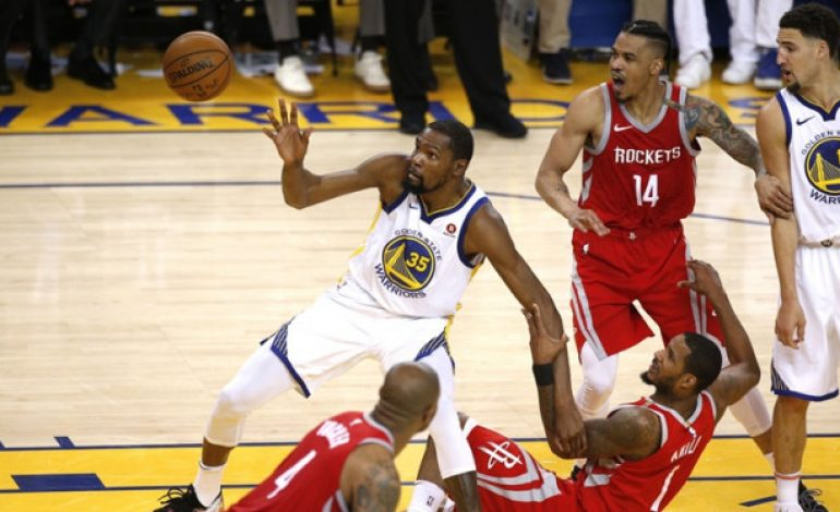 Golden State Warriors Vs Houston Rockets Makin Sengit