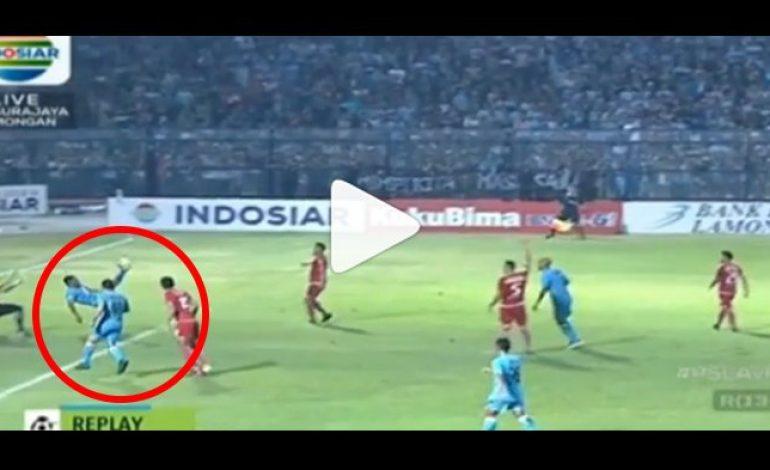 Persela vs Persija, Lihat Cuplikan Gol Diego Assis, Netizen Sebut 'Gol Tangan Tuhan'
