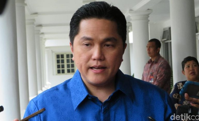 Mimpi Erick Thohir Jadikan Indonesia Tuan Rumah Olimpiade 2032