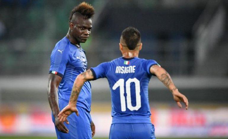 Italia Menang pada Debut Mancini, Balotelli Cetak Gol