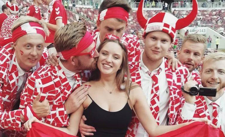 Seksinya Natali Khlebnikova, Wanita Rusia Pendukung Denmark di Piala Dunia 2018