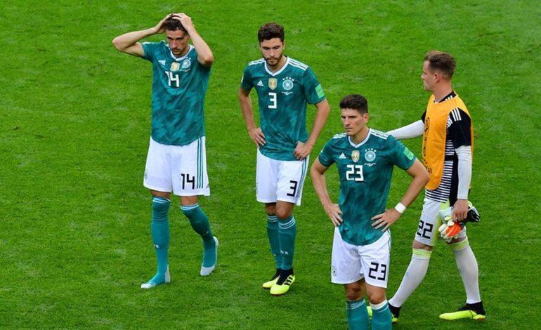 Jerman Angkat Koper dari Piala Dunia 2018, Kutukan Sang Juara Bertahan Berlanjut