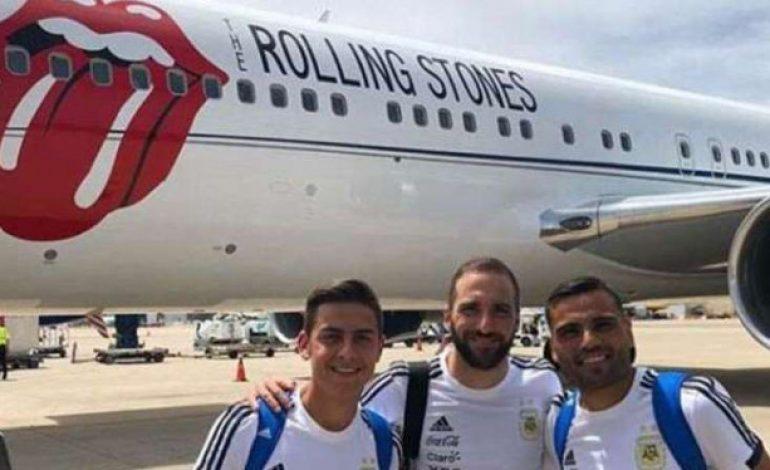 Timnas Argentina Naik Jet Anti Mainstream ke Rusia