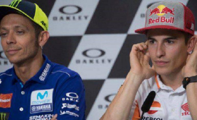 Marc Marquez Bersyukur Bukan Valentino Rossi yang Jadi Pemenang MotoGP Italia 2018