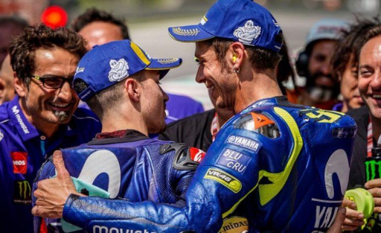 Direktur Yamaha Optimistis Rossi dan Vinales Bakal Raih Hasil Apik pada MotoGP Catalunya 2018