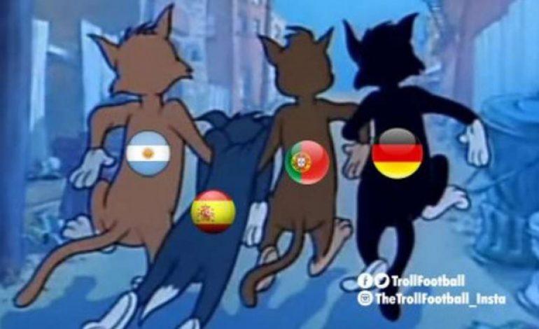 Meme Kocak Usai Spanyol Tersingkir di Piala Dunia 2018