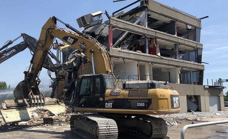 Wah, Bangunan Pit di Sirkuit Gilles Villeneuve Kanada Dirobohkan