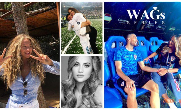Selebgram Istri Gelandang Timnas Kroasia Disebut Mirip Shakira