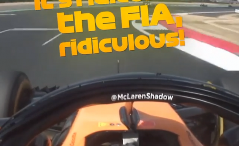 Video Ngamuknya Fernando Alonso Karena Manuver Kevin Magnussen di F1 Inggris