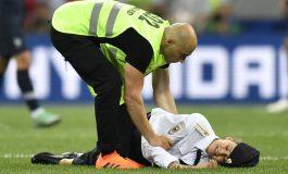 Polisi Masih Menahan Penyusup di Final Piala Dunia 2018