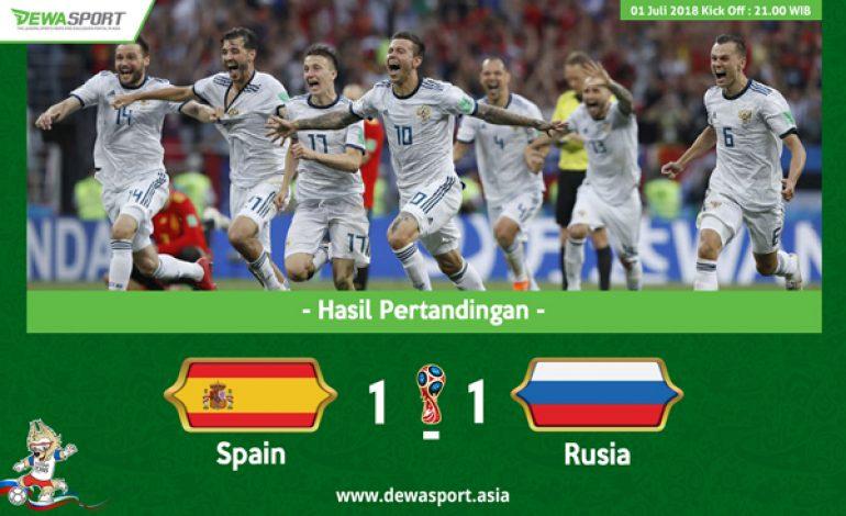 Spain 1 – 1 Rusia : Spanyol Pulang, Fernando Hierro Tanggung jawab