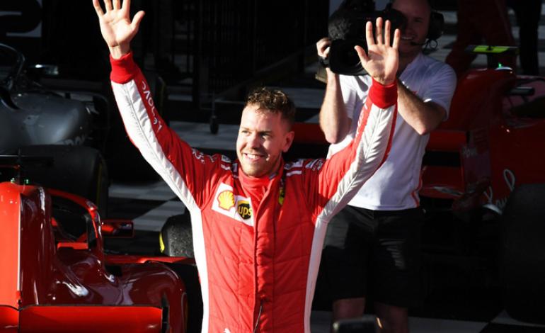 Kocak, Begini Tarian Mesir ala Sebastian Vettel di Hongaria Musim Lalu