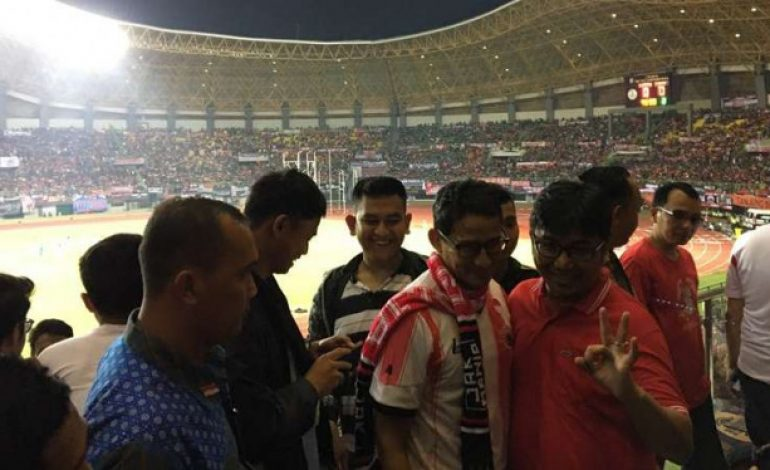 Jadi Cawapres, Sandiaga Uno Diserang Netizen soal Stadion