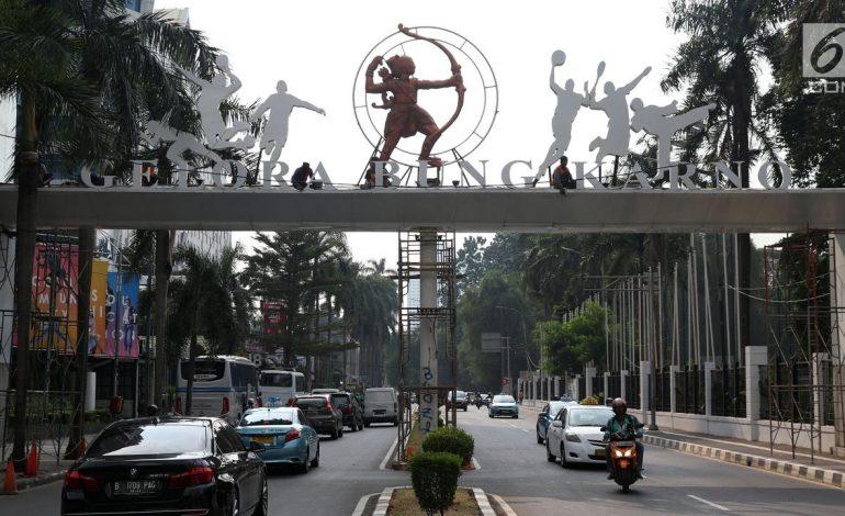 Jelang Pembukaan Asian Games, Banyak Warga Tidak Tahu Penutupan Jalan
