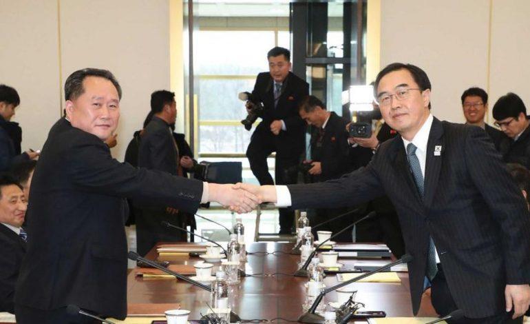 Bersatu di Asian Games 2018, Korea Utara dan Korea Selatan Banjir Pujian