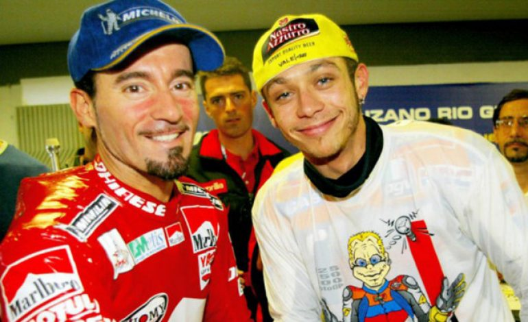 Max Biaggi Selangkah Lagi Ikuti Jejak Valentino Rossi