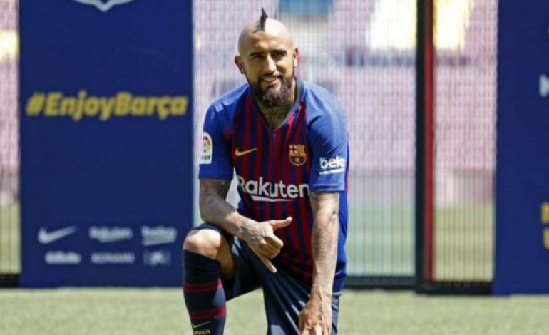 Resep Arturo Vidal Langsung Nyetel di Barcelona