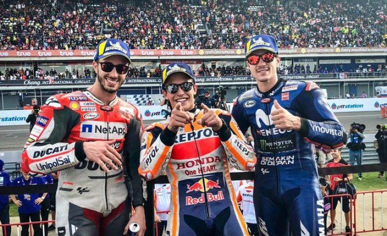 Dahsyat! Penonton MotoGP Thailand Tercatat Paling Banyak Selama 2018