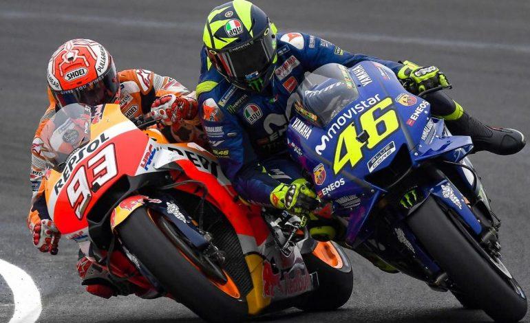 MotoGP: Perbandingan Marquez dan Rossi Saat Usia 25 Tahun