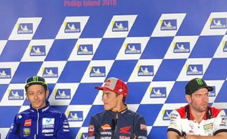 Makjleb, Jawaban Marc Marquez di Hadapan Valentino Rossi Karena Belum Ucapkan Selamat Juara Dunia MotoGP 2018