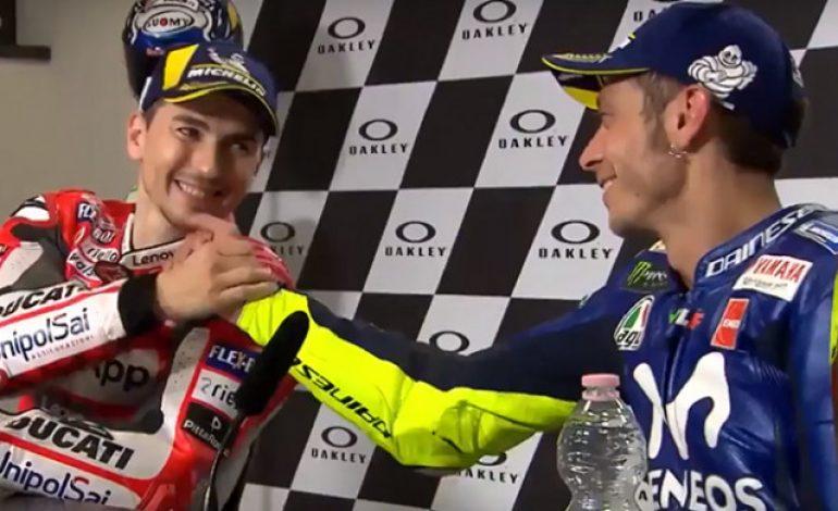 Sanjung Valentino Rossi, Jorge Lorenzo: Saya Bukan Orang Munafik