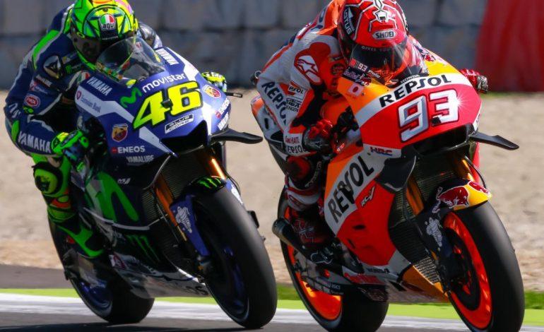 Valentino Rossi Terkesan dengan Keberanian Marc Marquez