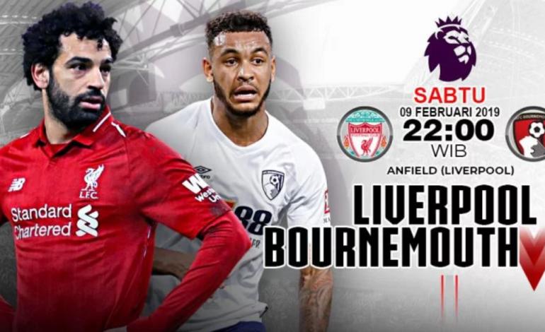 Preview Liverpool vs Bournemouth: Jalan Kembali ke Puncak