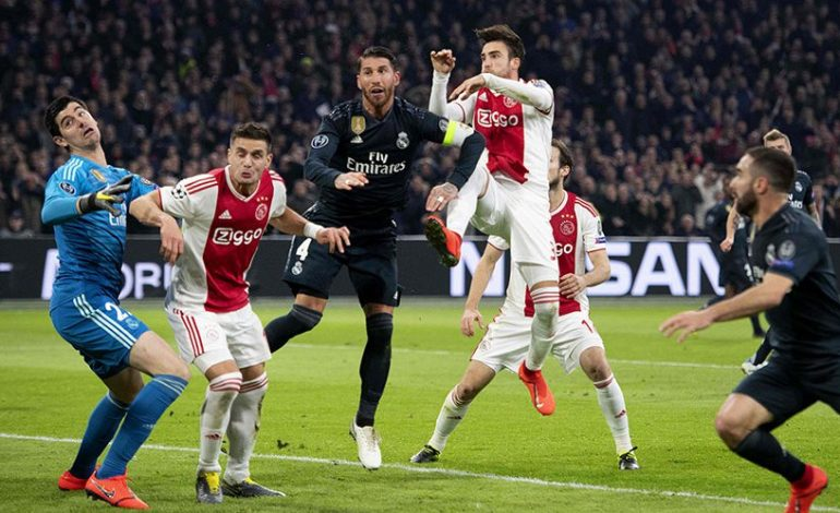 Real Madrid Susah Payah Menang di Kandang Ajax