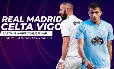 Preview Real Madrid vs Celta Vigo: Mengembalikan Keangkeran Santiago Bernabeu