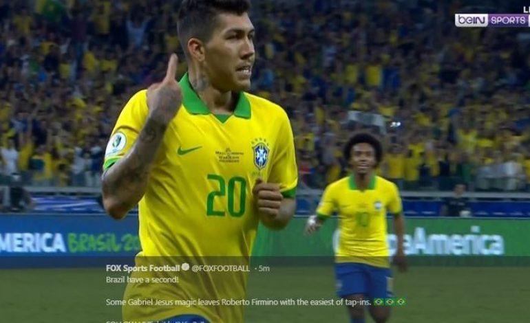 Hasil Copa America – Messi Sial Terus, Brasil Lolos ke Final Tanpa Kebobolan