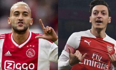 Marc Overmars Sarankan Arsenal Jual Mesut Ozil dan Beli Hakim Ziyech
