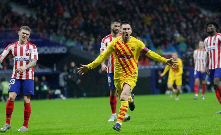 Hasil Pertandingan Atletico Madrid vs Barcelona: Skor 0-1
