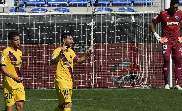 Man of the Match Alaves vs Barcelona: Lionel Messi