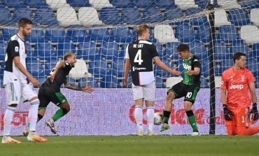 Hasil Pertandingan Sassuolo vs Juventus: Skor 3-3