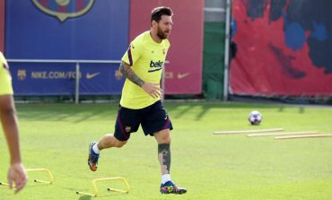 Messi Tetap Ikut Latihan, tapi Ogah Temui Presiden Barcelona