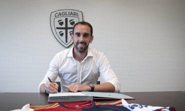 Tinggalkan Inter Milan, Diego Godin Mendarat di Cagliari