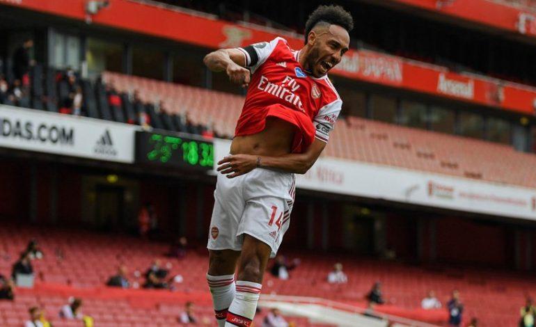 Aubameyang Teken Kontrak Baru di Arsenal, Netizen: Pilihan yang Tepat!