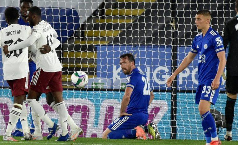 Hasil Pertandingan Leicester City vs Arsenal: Skor 0-2