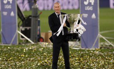 Real Madrid Adem Ayem di Bursa Transfer, Zinedine Zidane Tetap Kalem