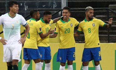 Brasil vs Bolivia: Tim Samba Pesta 5 Gol