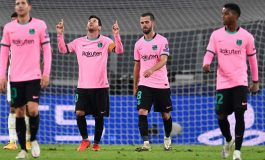 Lionel Messi Cetak Gol, Barcelona Ejek Juventus di Media Sosial
