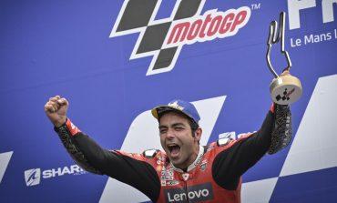 Petrucci Juara MotoGP Prancis, Marquez Raih Podium Perdana